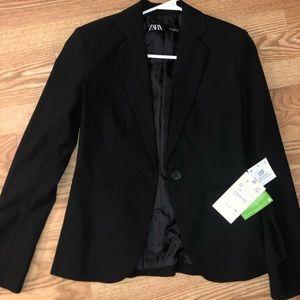 Black Zara blazer new with tags